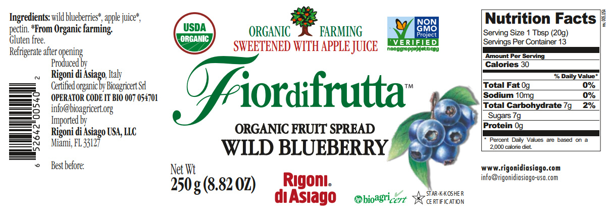 fiordifrutta wild blueberry nutrition