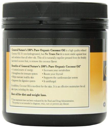 General nature coconut oil mild nutrition