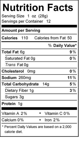 katz kishka kugel nutrition